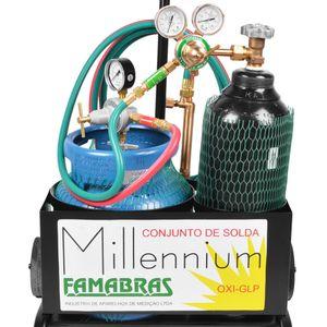 Conjunto-Macarico-Aparelho-de-Solda-Oxigenio-e-Glp-Millennium-Famabras