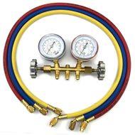 Manifold-Gas-R12-R22-R134-Com-Mangueiras-90cm-Refrigeracao-e-Ar-Condicionado