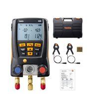 Manifold Digital Testo 550 Superaquecimento Sub-Resfriamento 2 Sondas Com Maleta App Bluetooth