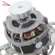Polia Estriada Do Motor Lavadora Electrolux Universal Furo Menor