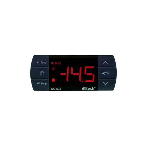 Controlador de Temperatura Digital Ek-3020 Elitech 220v