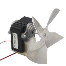 Motor Ventilador 1/100 Exaustor Com Hélice 220v