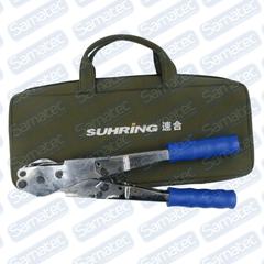 Alicate Lokring Tubos de Cobre e Alumínio Completo com Mordentes 1/4 a 3/4